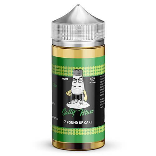 Salty Man Vapor eJuice - 7 Pound Up Cake