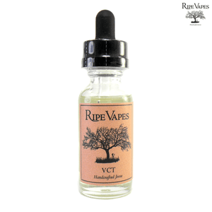 Ripe Vapes - VCT (Vanilla/Custard/Tobacco) - New 60ml Size