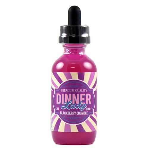 Dinner Lady Premium E-Liquids - Blackberry Crumble