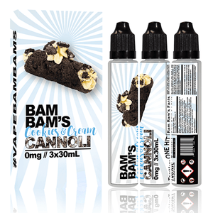 Bam Bams Cannoli - Cookies 'n Cream - 90ml