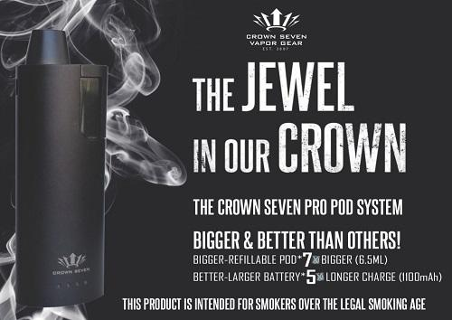 Crown7 Pro Pod Starter Kit