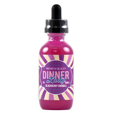 Dinner Lady Premium E-Liquids - Blackberry Crumble - 60ml
