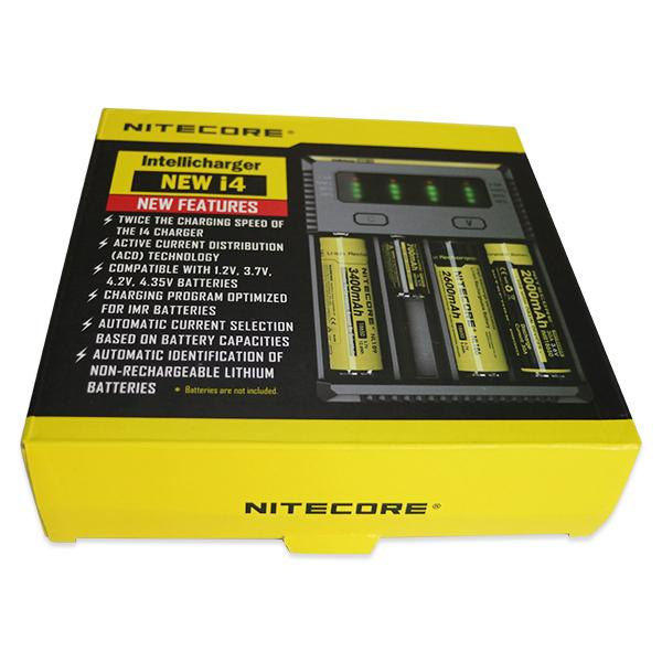 Nitecore Upgraded i4 Intellicharger