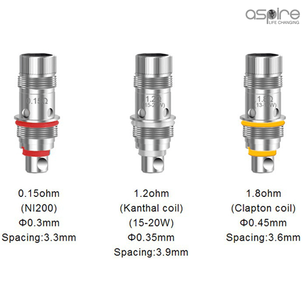 Aspire Triton Mini and Nautilus Coil