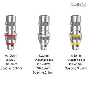 Aspire Triton Mini and Nautilus Mini Coils 5-Pack
