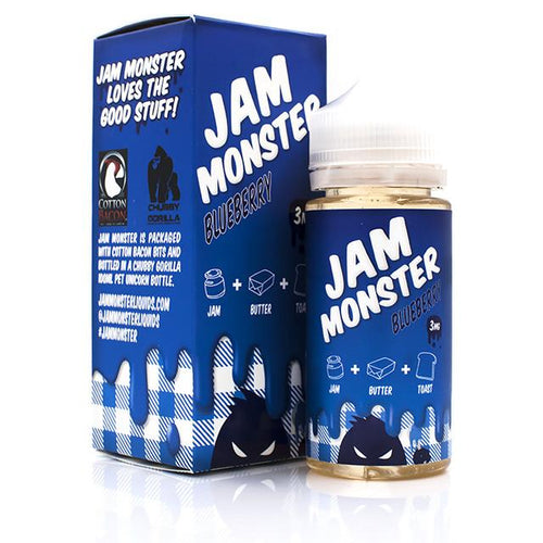 Jam Monster ejuice - Blueberry 100ml