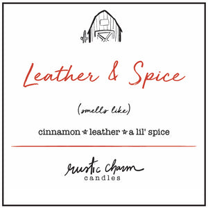 Leather & Spice (Cinnamon Leather)