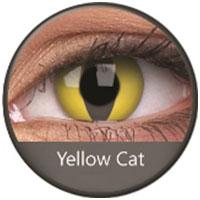 Sweety Crazy Lens - Yellow Cat (With Prescription)