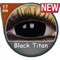 Sweety Mini Sclera Lens Black Titan-UNIQSO Express