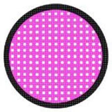 Load image into Gallery viewer, Sweety Crazy Lens - Pink Mesh/Screen Black Rim