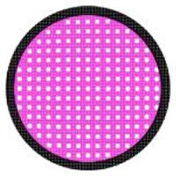 Sweety Crazy Lens - Pink Mesh/Screen Black Rim