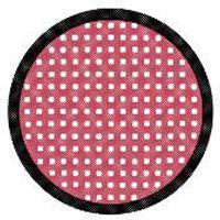 Load image into Gallery viewer, Sweety Crazy Lens - Red Mesh/Screen with Black Rim