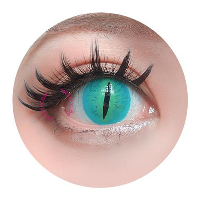 Sweety Crazy Lens Green Demon Eye