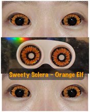 Load image into Gallery viewer, Sweety Orange Sclera - Orange Elf