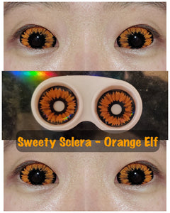 Sweety Orange Sclera - Orange Elf