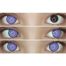 Load image into Gallery viewer, Sweety Crazy Lens - Violet Mesh with Black Rim