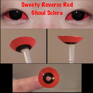 Sweety Reverse Red Ghoul Sclera