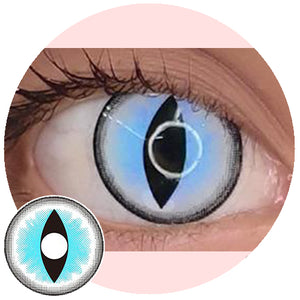 Sweety Crazy Lens - Sexy Cat Eye Blue