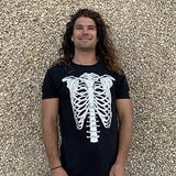 GunShowTees Men's Skeleton Halloween Costume Shirt