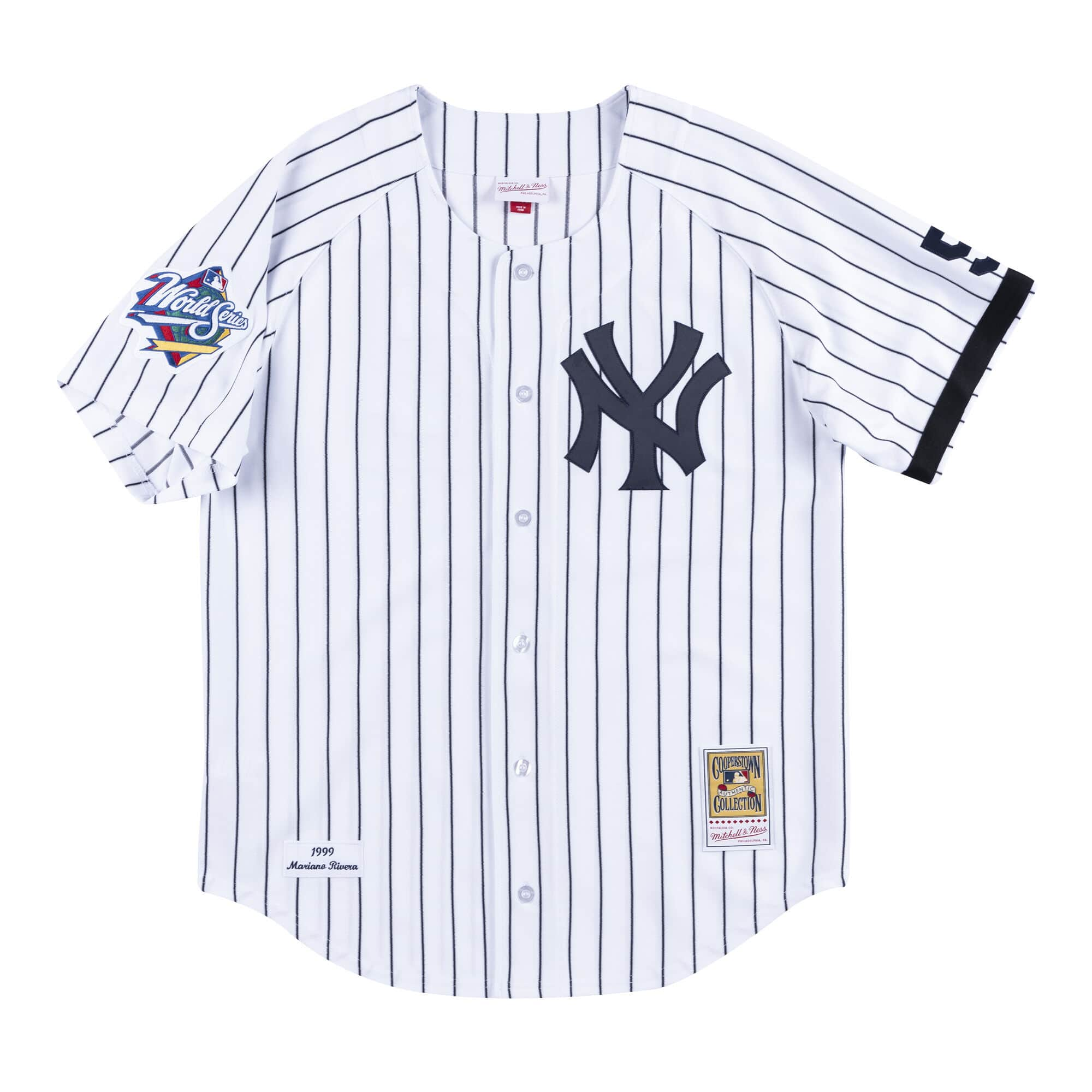 super popular 29714 1daa3 Jersey New York Yankees Home World Series 1999 Mariano Rivera
