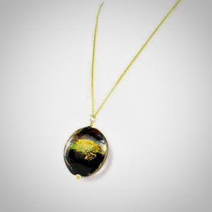 OSIRIS necklace - Luxurious Murano glass pendant - Murano Glass