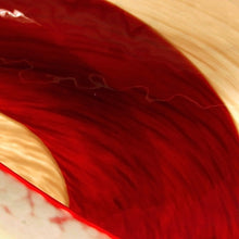 Load image into Gallery viewer, ALTANA bright red and cream Murano glass bowl - Murano Glass
