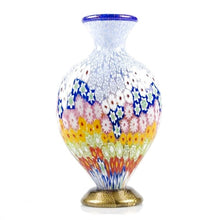 Load image into Gallery viewer, BABA Colourful Murrine Murano glass vase - Murano Glass