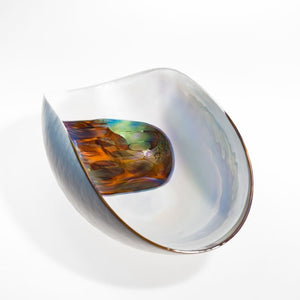 BARBACAN Pearl Murano glass bowl - Murano Glass