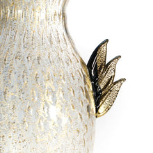 Load image into Gallery viewer, PEGASUS Black and gold Murano glass vase - Murano Glass