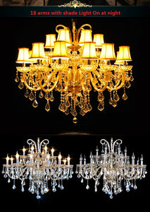 New cognic luxury Modern K9 crystal chandelier - Murano Glass Art Style