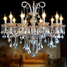 Load image into Gallery viewer, New cognic luxury Modern K9 crystal chandelier - Murano Glass Art Style