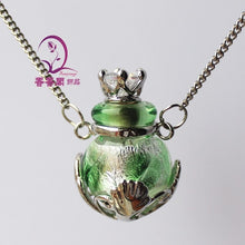 Load image into Gallery viewer, Elegant Necklace for perfume - Murano Glass Art Style