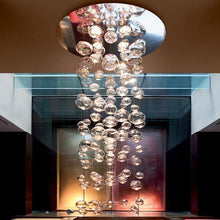 Load image into Gallery viewer, Modern Murano Bubble Glass Chandelier in Murano Glass Art Style
