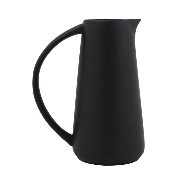 Matte Black Pitcher