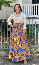 """Vanessa"" Flare Skirt With Pockets"