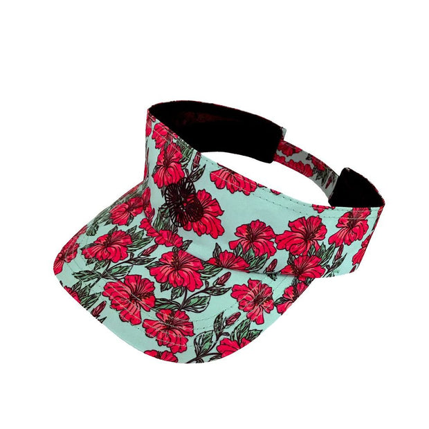 orange-hibiscus-flowers-beach-visor
