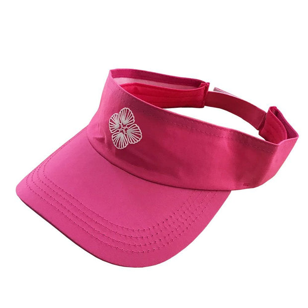 solid-pink-beach-visor