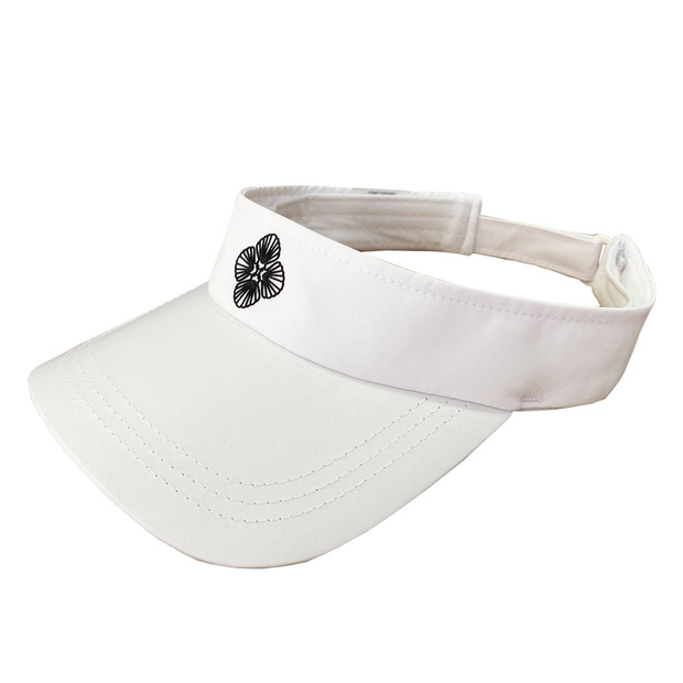solid-white-beach-visor