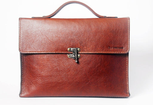 Lewis & Madge Leather Briefcase