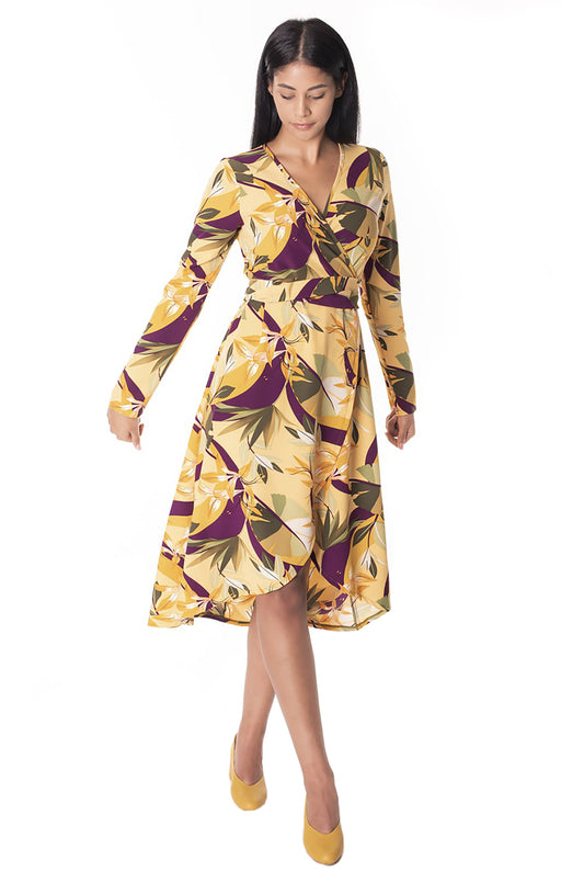 Danielle Frylinck Melody Wrap Dress