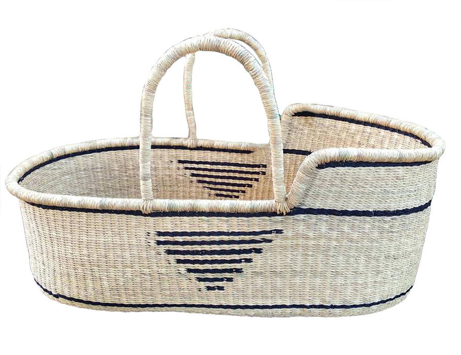 AfricanheritageGH Moses Baby Basket Bed, Baby Bassinet