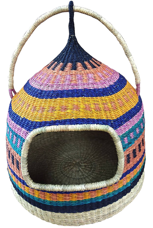 AfricanheritageGH Handmade Authentic Luxury Cat Bed