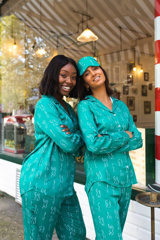 Nightire Organic Bamboo Pyjama Set - Beautiful Bodies - Emerald