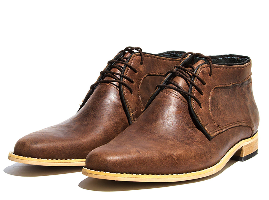 Diomande Men's Genuine Leather Shoes