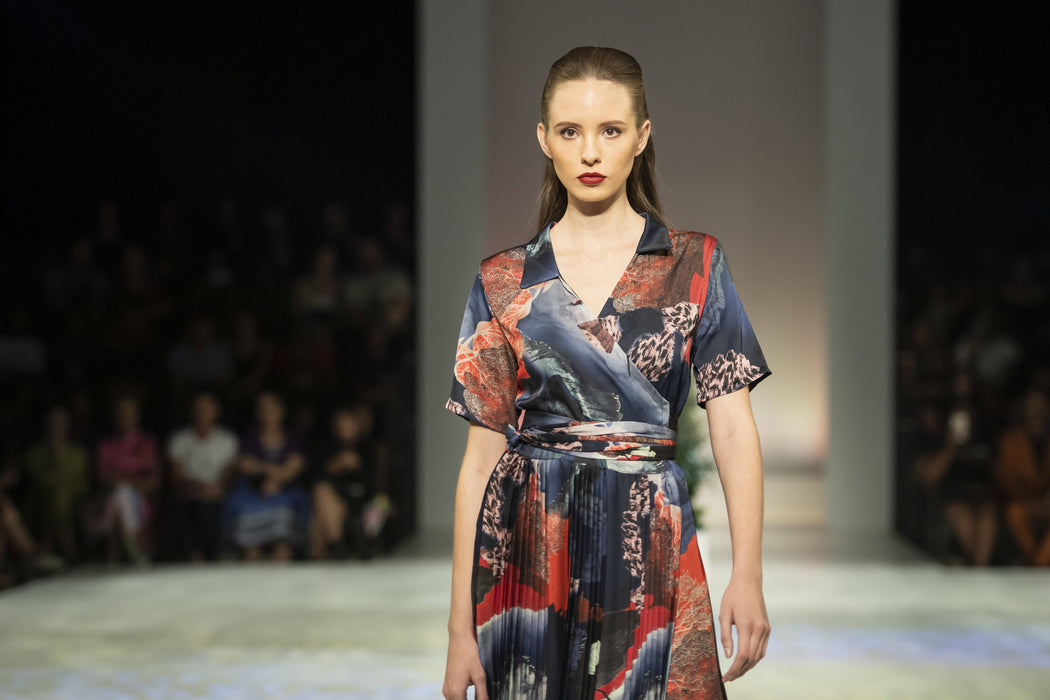 Danielle Frylinck Andrina Satin Dress - Limited Edition For The Runway 2020 SA Fashion week