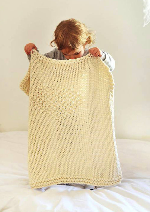 Nordic Inspired Baby Blanket, Shawl