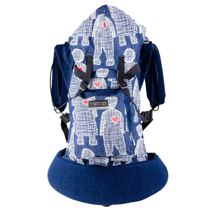 African Baby Carrier Denim Original (Simple, Light weight for all occasions)