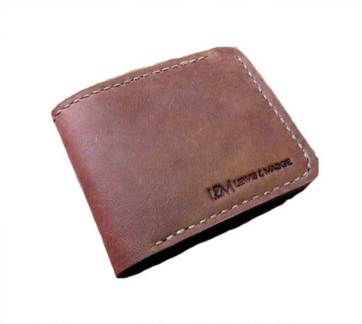 Lewis & Madge Leather Bi-Fold Wallet