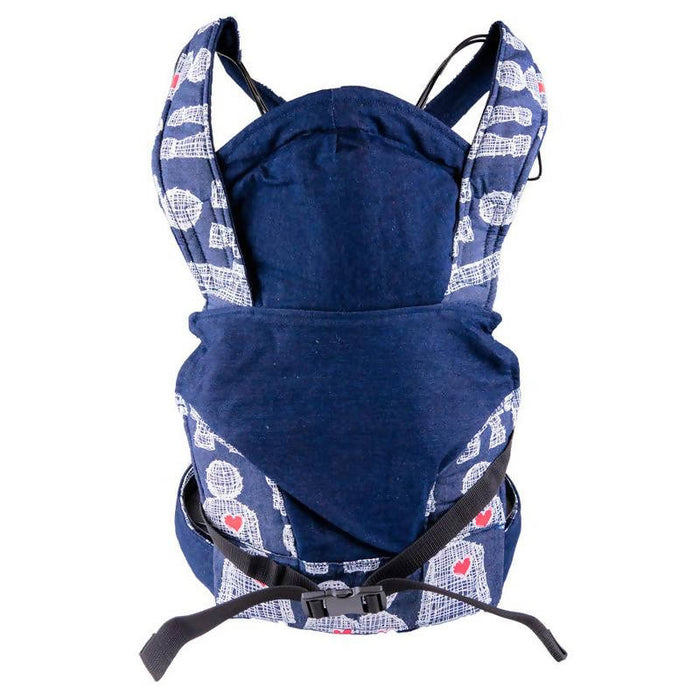 African Baby Carrier Newborn, Denim