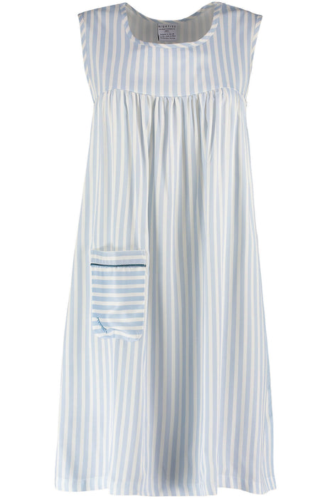Nightire Organic Bamboo Nightdress - Simple Stripe